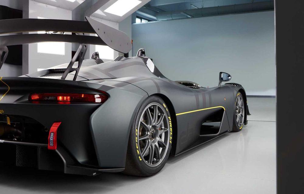 Dallara EXP: model dedicat circuitului, cu 500 CP și greutate de 890 kilograme - Poza 5