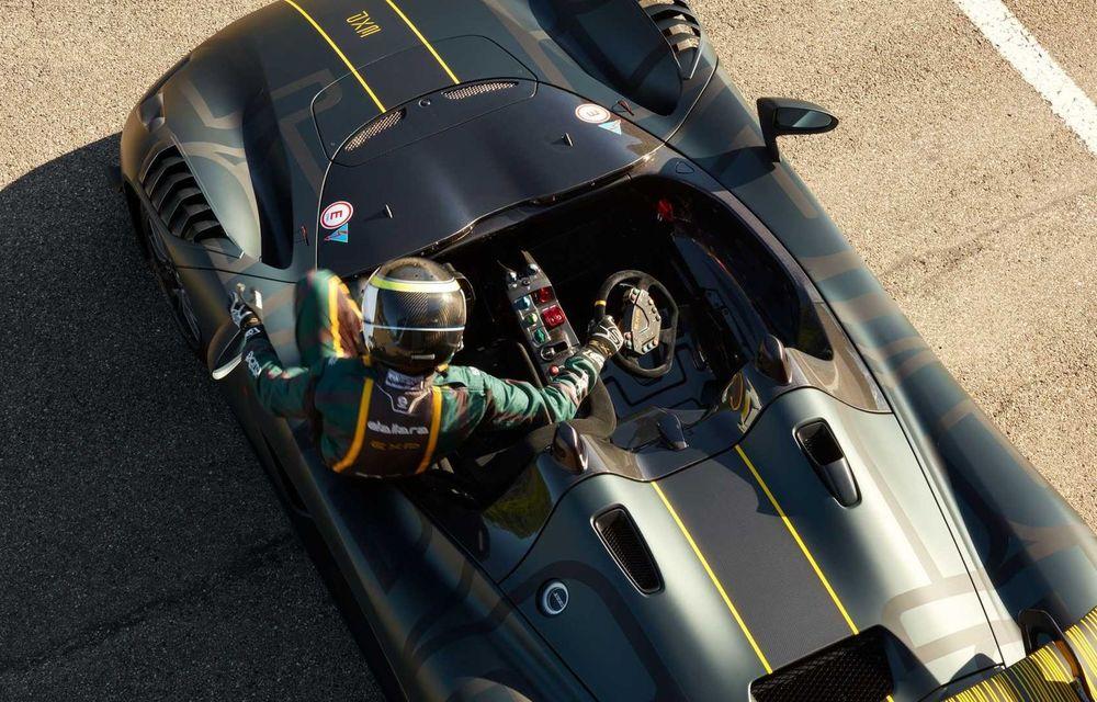 Dallara EXP: model dedicat circuitului, cu 500 CP și greutate de 890 kilograme - Poza 8