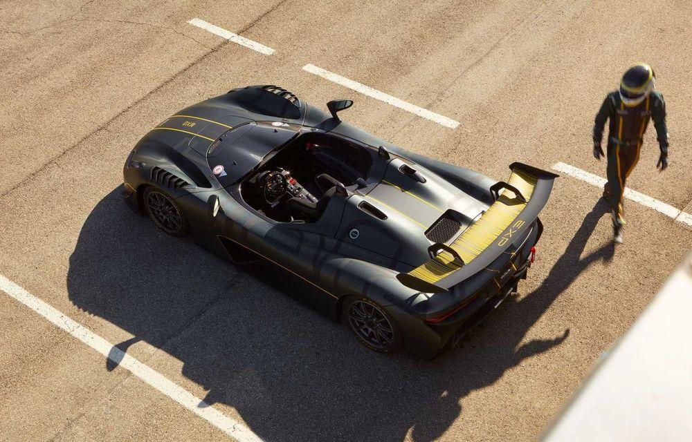Dallara EXP: model dedicat circuitului, cu 500 CP și greutate de 890 kilograme - Poza 4