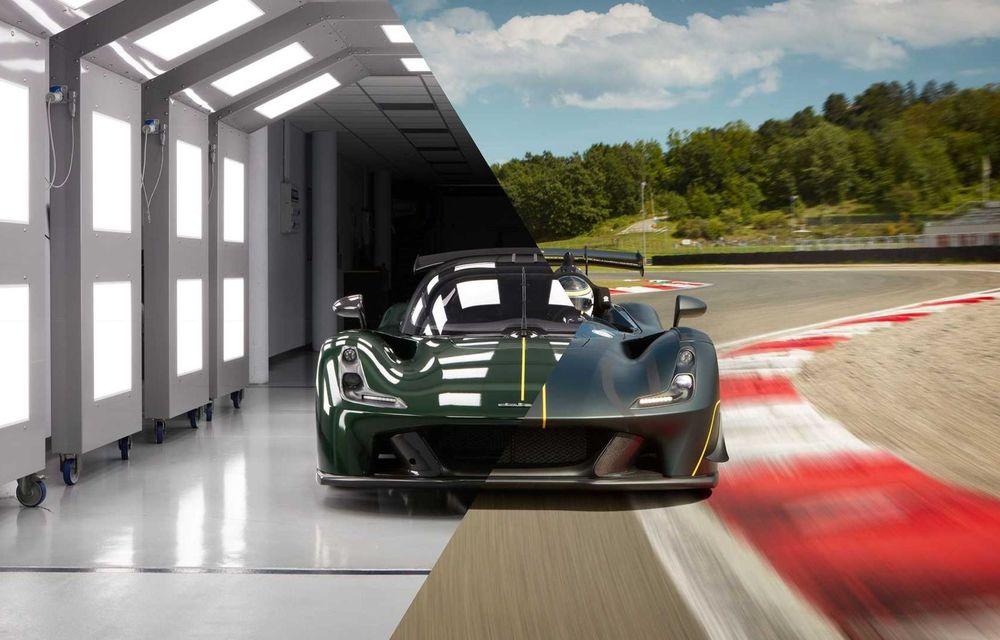 Dallara EXP: model dedicat circuitului, cu 500 CP și greutate de 890 kilograme - Poza 3