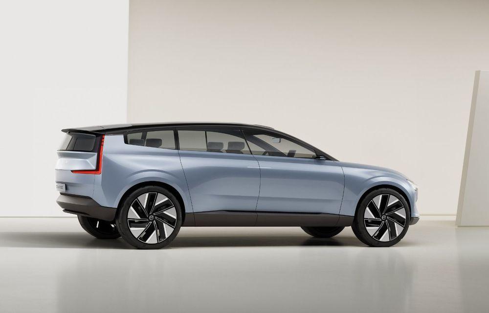 Volvo Concept Recharge prefațează viitorul electric al producătorului suedez - Poza 2