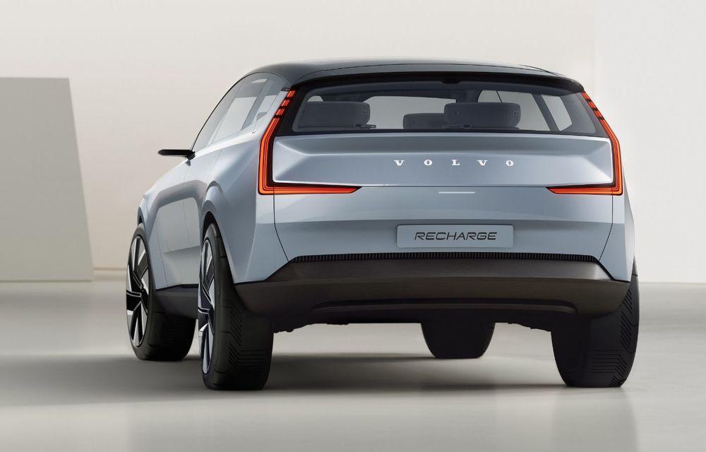 Volvo Concept Recharge prefațează viitorul electric al producătorului suedez - Poza 3