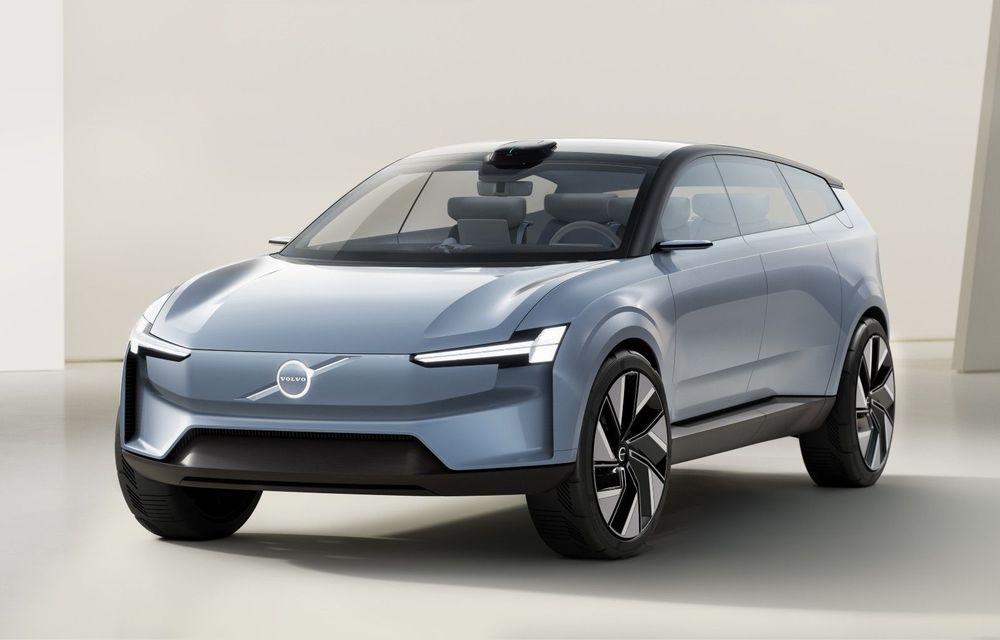 Volvo Concept Recharge prefațează viitorul electric al producătorului suedez - Poza 1