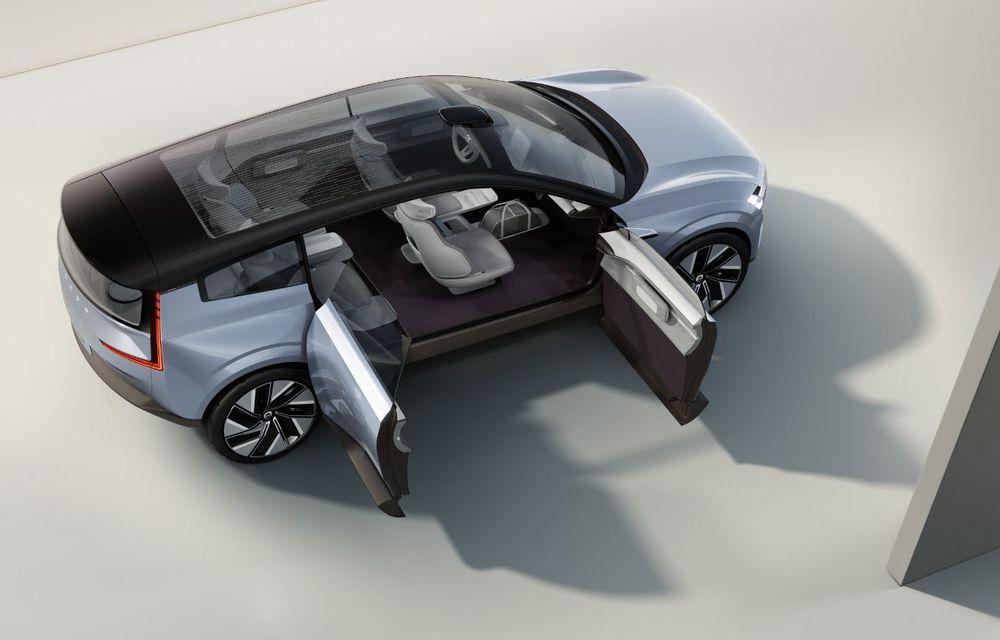 Volvo Concept Recharge prefațează viitorul electric al producătorului suedez - Poza 6
