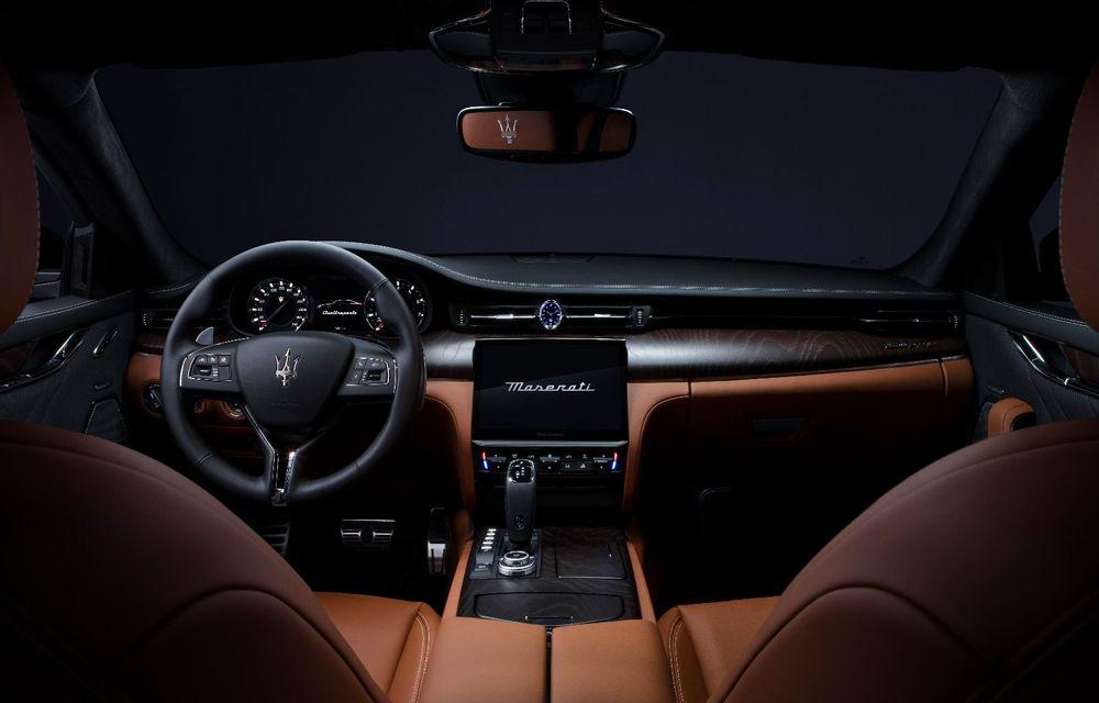 Maserati anunță o serie de îmbunătățiri pentru Ghibli, Quattroporte și Levante - Poza 4