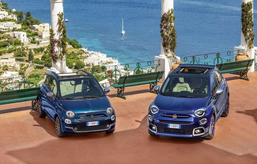 Fiat 500X Yachting: plafon soft-top retractabil și ornamente inspirate din lumea ambarcațiunilor - Poza 4