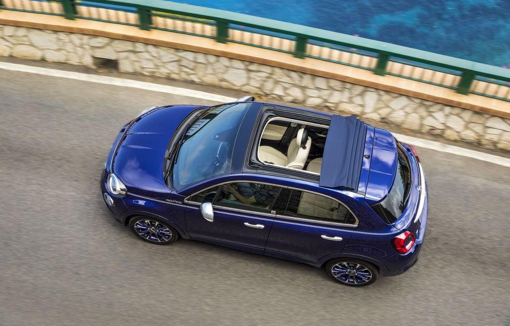 Fiat 500X Yachting: plafon soft-top retractabil și ornamente inspirate din lumea ambarcațiunilor - Poza 8