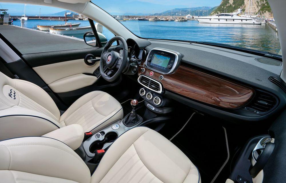 Fiat 500X Yachting: plafon soft-top retractabil și ornamente inspirate din lumea ambarcațiunilor - Poza 16