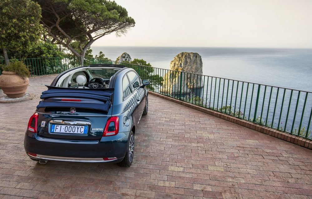 Fiat 500X Yachting: plafon soft-top retractabil și ornamente inspirate din lumea ambarcațiunilor - Poza 21