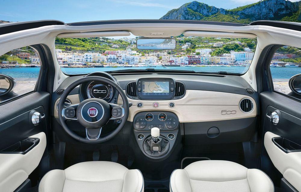 Fiat 500X Yachting: plafon soft-top retractabil și ornamente inspirate din lumea ambarcațiunilor - Poza 24