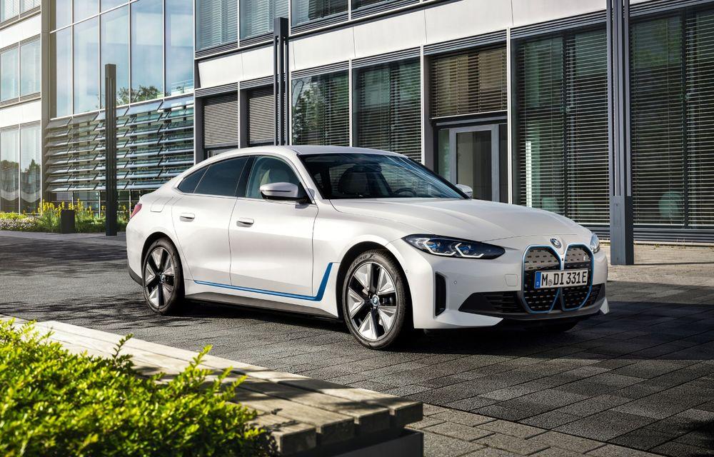 Prețuri BMW i4 în România: sedanul electric pornește de la 53.000 de euro - Poza 1