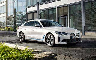 Prețuri BMW i4 în România: sedanul electric pornește de la 53.000 de euro