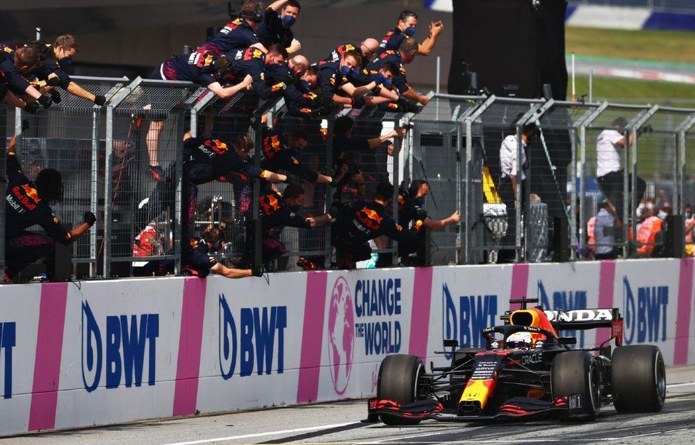 Verstappen bifează a treia victorie consecutivă din 2021. Norris, pe podium în Austria - Poza 1