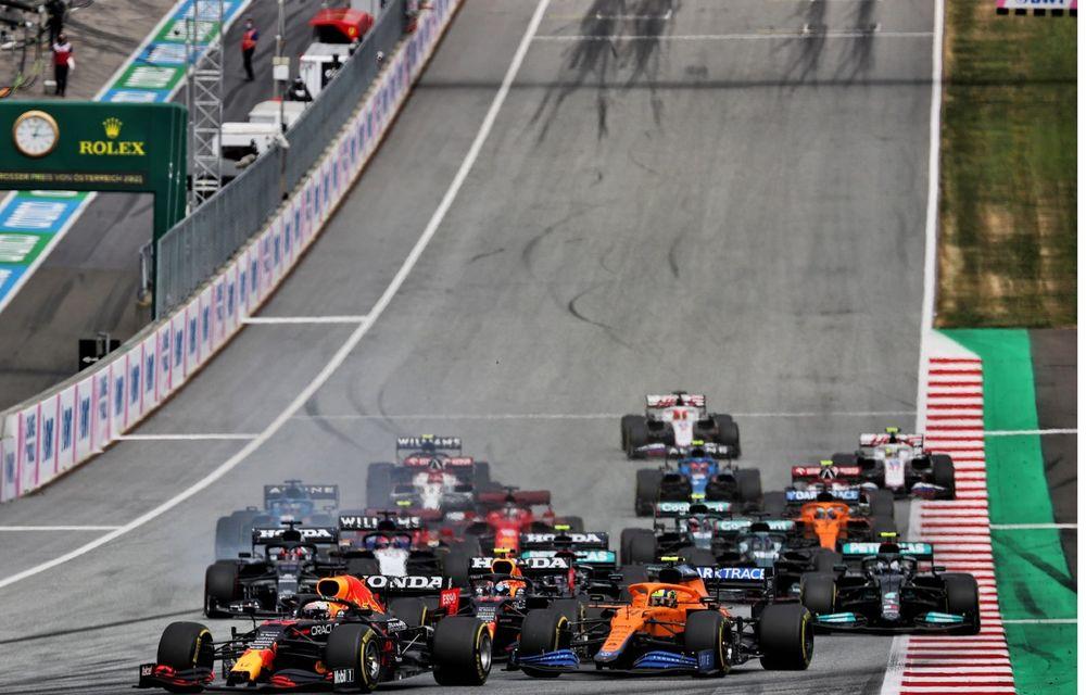 Verstappen bifează a treia victorie consecutivă din 2021. Norris, pe podium în Austria - Poza 2