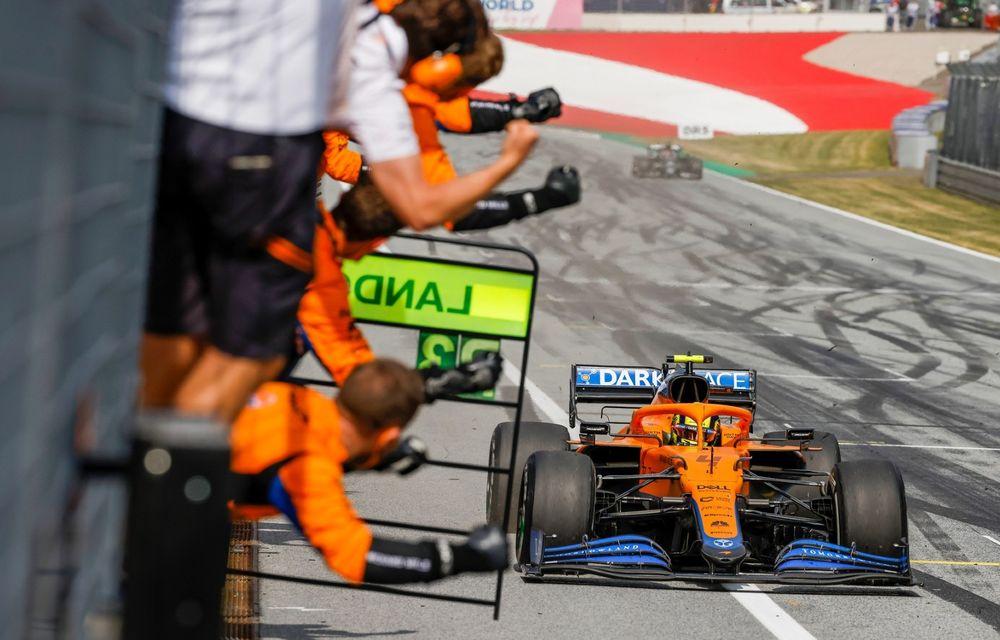 Verstappen bifează a treia victorie consecutivă din 2021. Norris, pe podium în Austria - Poza 8