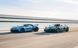 OFICIAL: Croații de la Rimac preiau controlul Bugatti