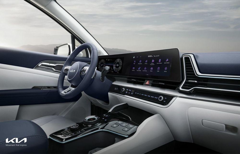 Noua Kia Sportage: diesel nou de 186 CP, urmat de versiuni hibrid și PHEV - Poza 9