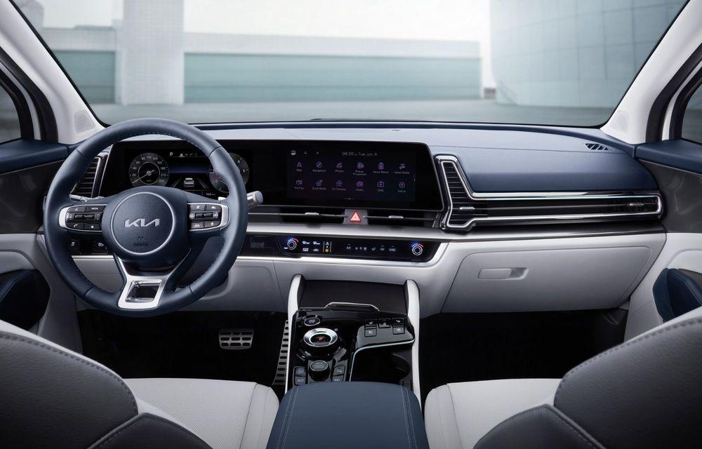 Noua Kia Sportage: diesel nou de 186 CP, urmat de versiuni hibrid și PHEV - Poza 11