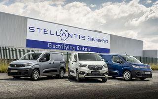 Stellantis va produce mașini electrice pentru Opel, Peugeot și Citroen în Marea Britanie