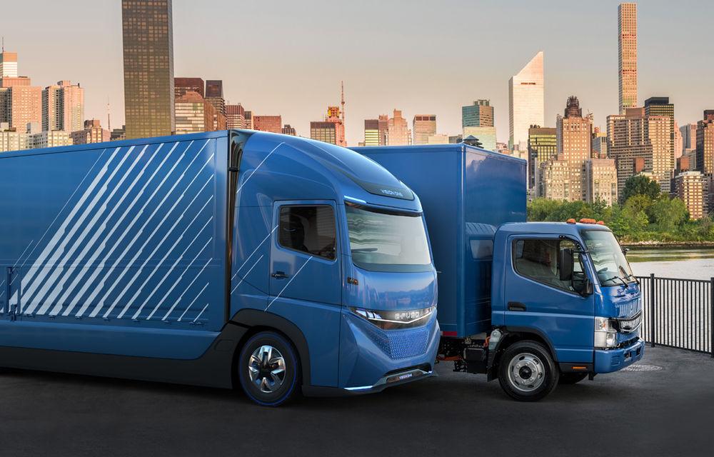 Diviziile de camioane Volvo și Daimler vor să instaleze 1.700 de stații de încărcare pentru camioane electrice - Poza 1