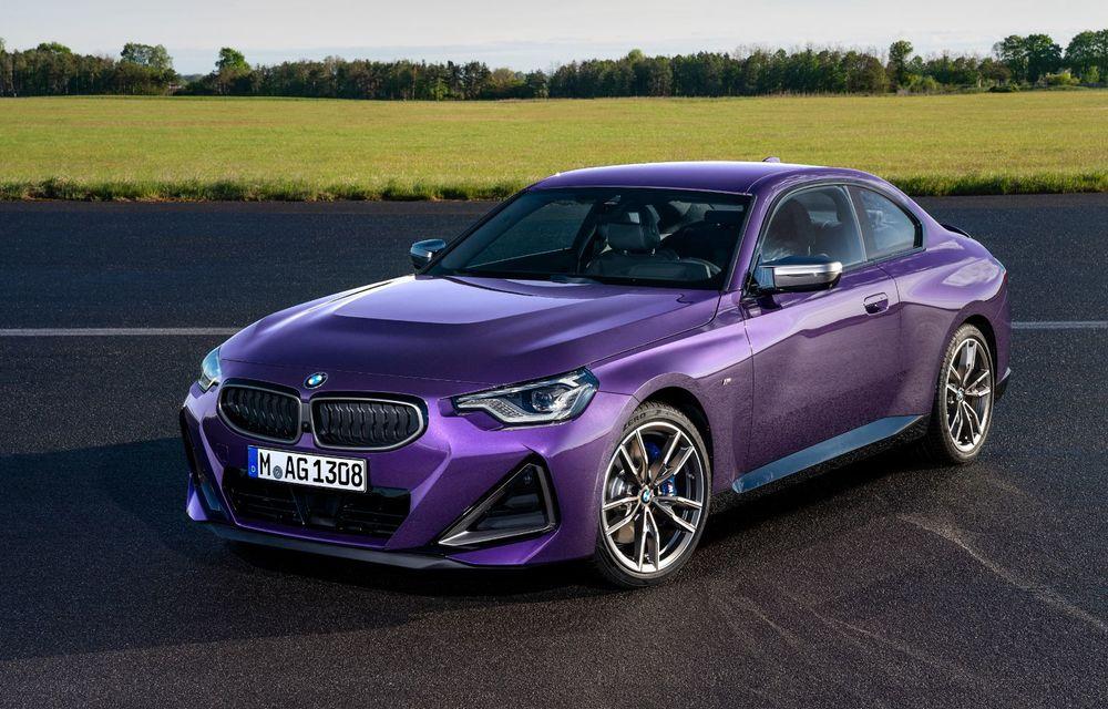 PREMIERĂ: Noua generație BMW Seria 2 Coupe, prezentată oficial cu până la 374 de cai putere - Poza 1