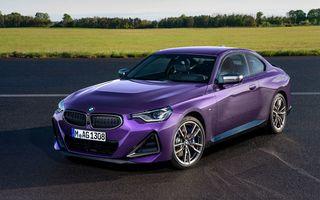 PREMIERĂ: Noua generație BMW Seria 2 Coupe, prezentată oficial cu până la 374 de cai putere
