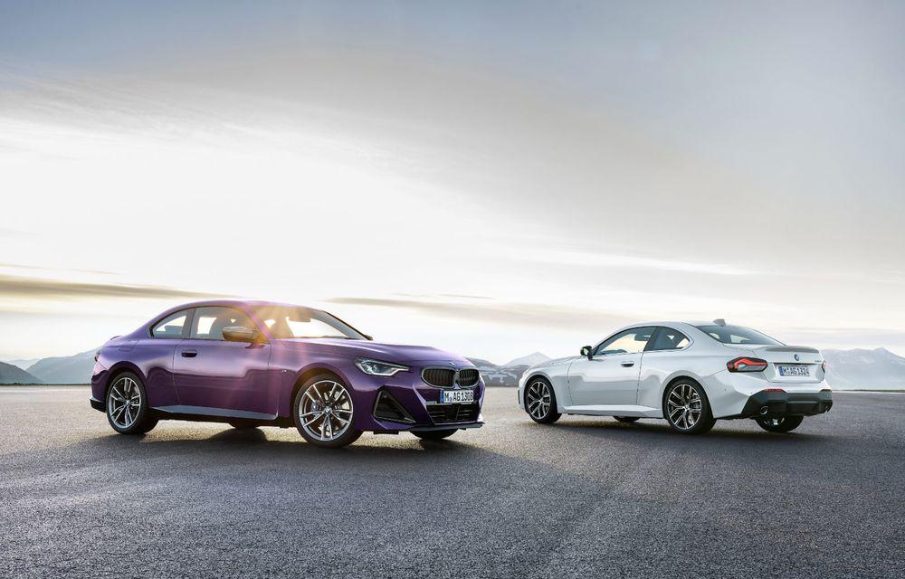 PREMIERĂ: Noua generație BMW Seria 2 Coupe, prezentată oficial cu până la 374 de cai putere - Poza 84