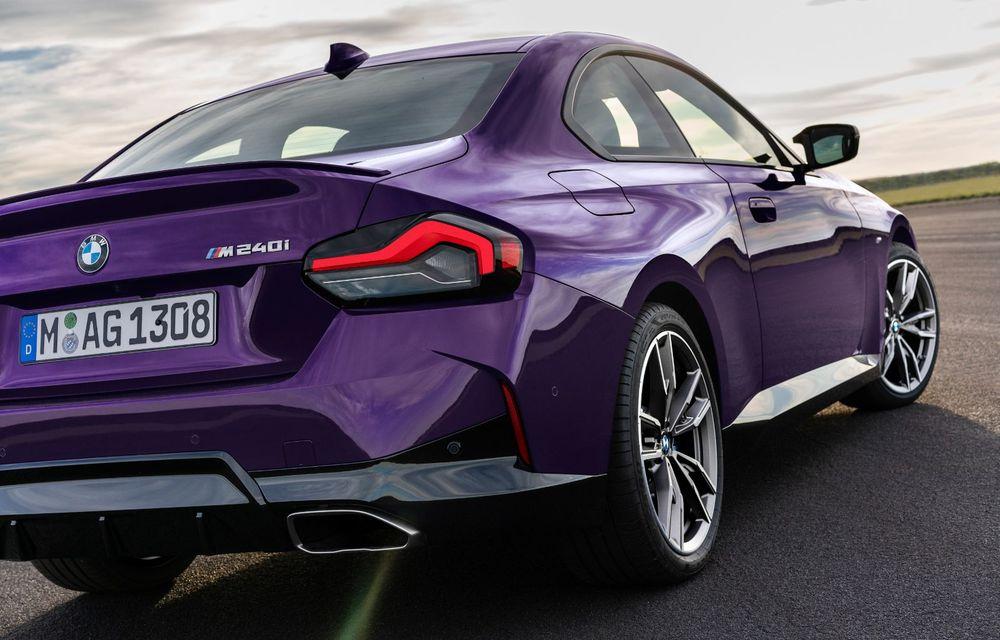 PREMIERĂ: Noua generație BMW Seria 2 Coupe, prezentată oficial cu până la 374 de cai putere - Poza 79