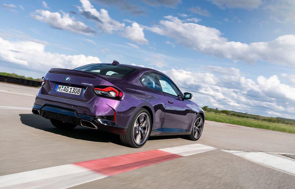 PREMIERĂ: Noua generație BMW Seria 2 Coupe, prezentată oficial cu până la 374 de cai putere - Poza 55