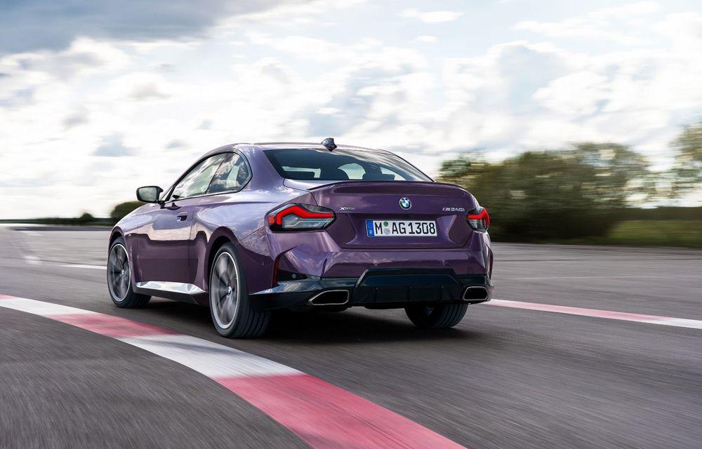 PREMIERĂ: Noua generație BMW Seria 2 Coupe, prezentată oficial cu până la 374 de cai putere - Poza 54