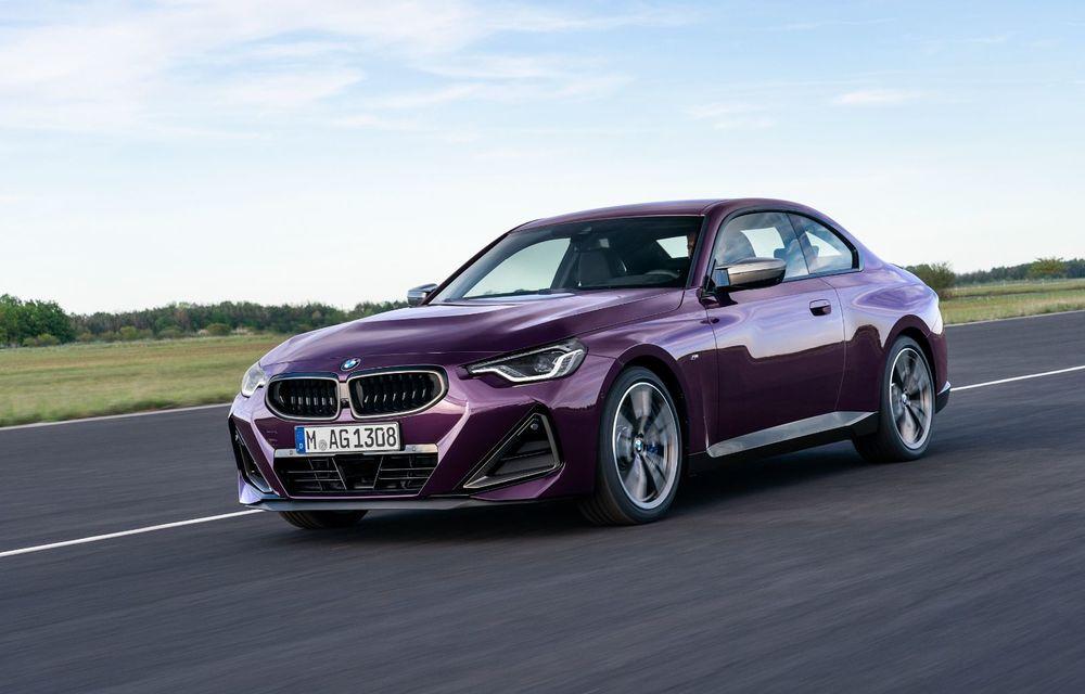 PREMIERĂ: Noua generație BMW Seria 2 Coupe, prezentată oficial cu până la 374 de cai putere - Poza 37