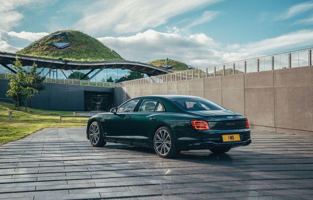 Bentley Flying Spur Hybrid debutează cu 544 CP și 40 de kilometri autonomie electrică - Poza 4