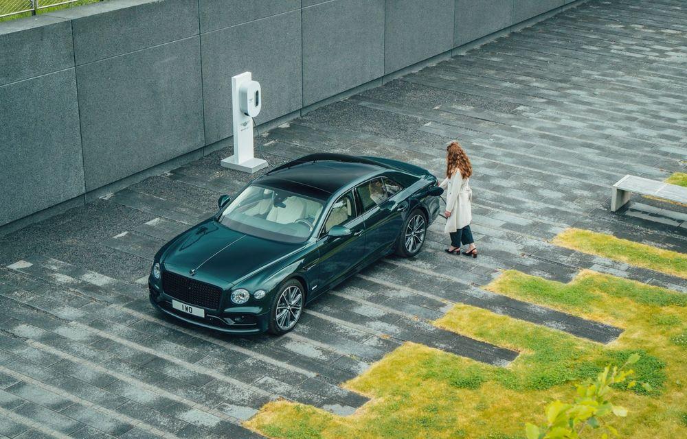 Bentley Flying Spur Hybrid debutează cu 544 CP și 40 de kilometri autonomie electrică - Poza 5