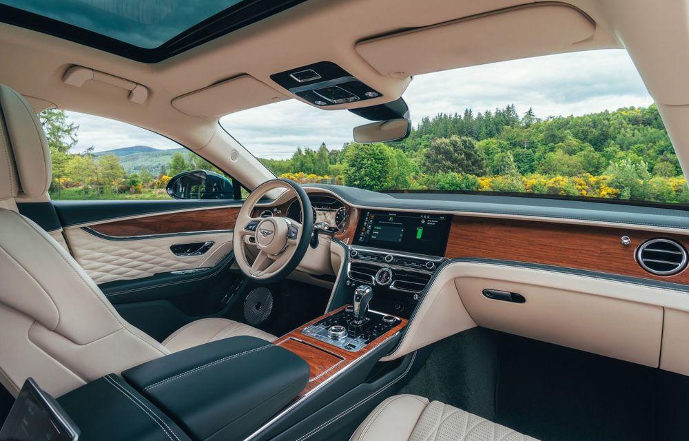 Bentley Flying Spur Hybrid debutează cu 544 CP și 40 de kilometri autonomie electrică - Poza 6