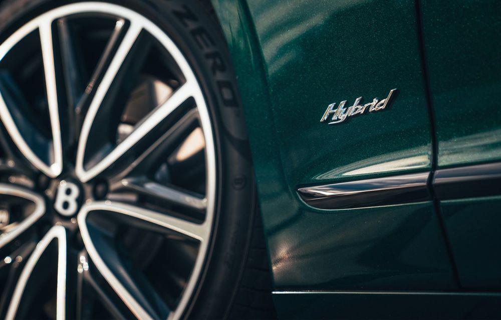 Bentley Flying Spur Hybrid debutează cu 544 CP și 40 de kilometri autonomie electrică - Poza 10