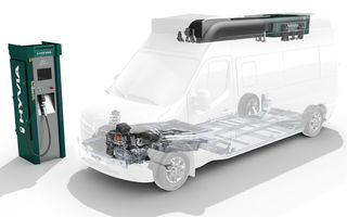 Renault vrea să producă versiuni pe hidrogen ale utilitarei Master