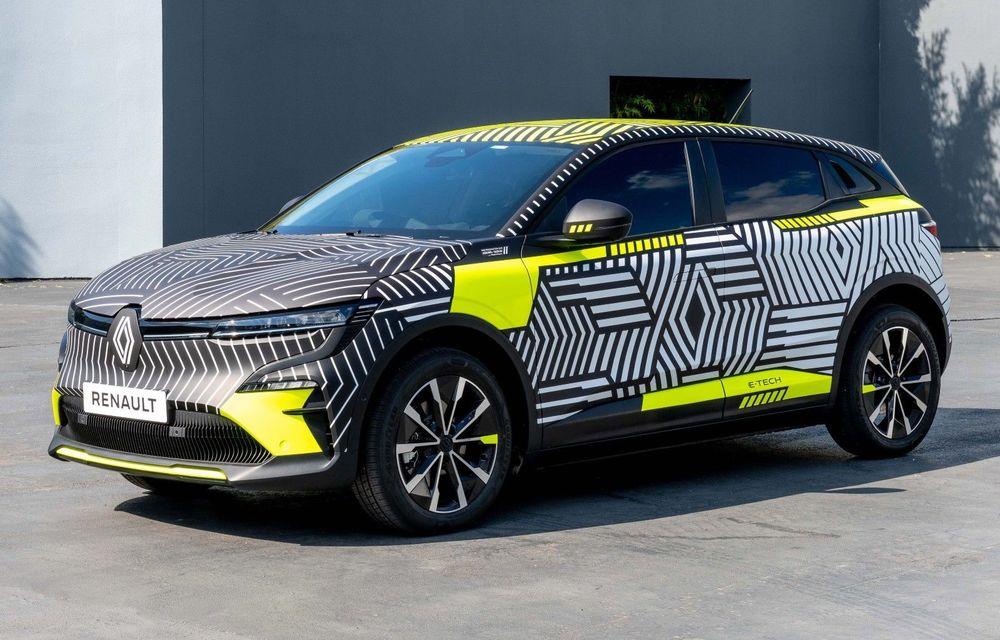 Noul Renault Megane electric va fi prezentat în 6 septembrie - Poza 1