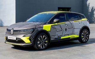 Noul Renault Megane electric va fi prezentat în 6 septembrie