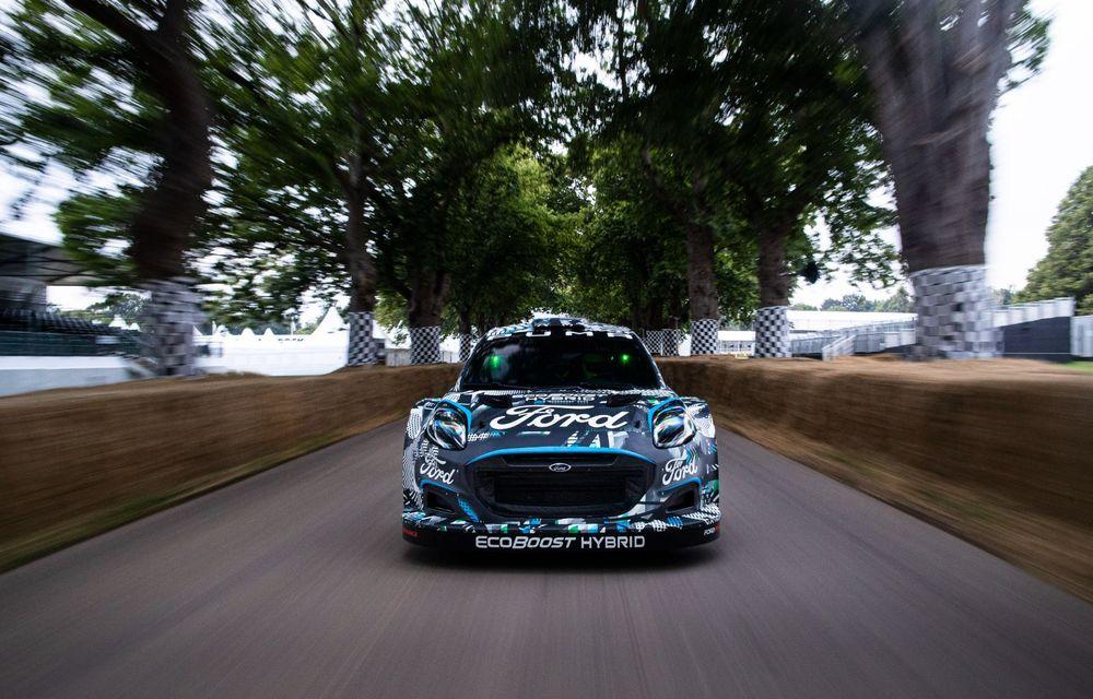 Ford Puma a fost transformat în mașină de raliu: prototipul va participa în WRC din 2022 - Poza 3
