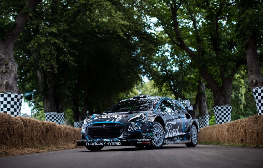 Ford Puma a fost transformat în mașină de raliu: prototipul va participa în WRC din 2022 - Poza 6