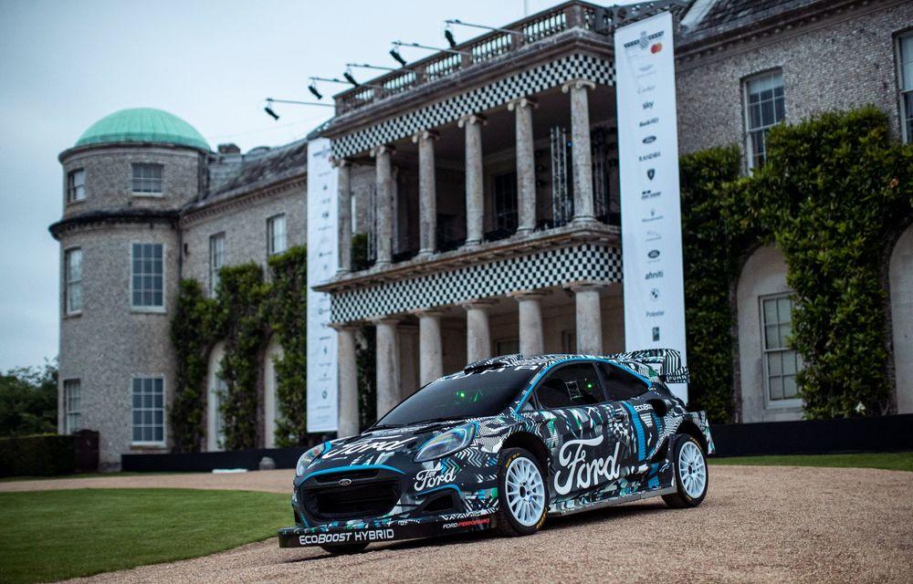 Ford Puma a fost transformat în mașină de raliu: prototipul va participa în WRC din 2022 - Poza 2