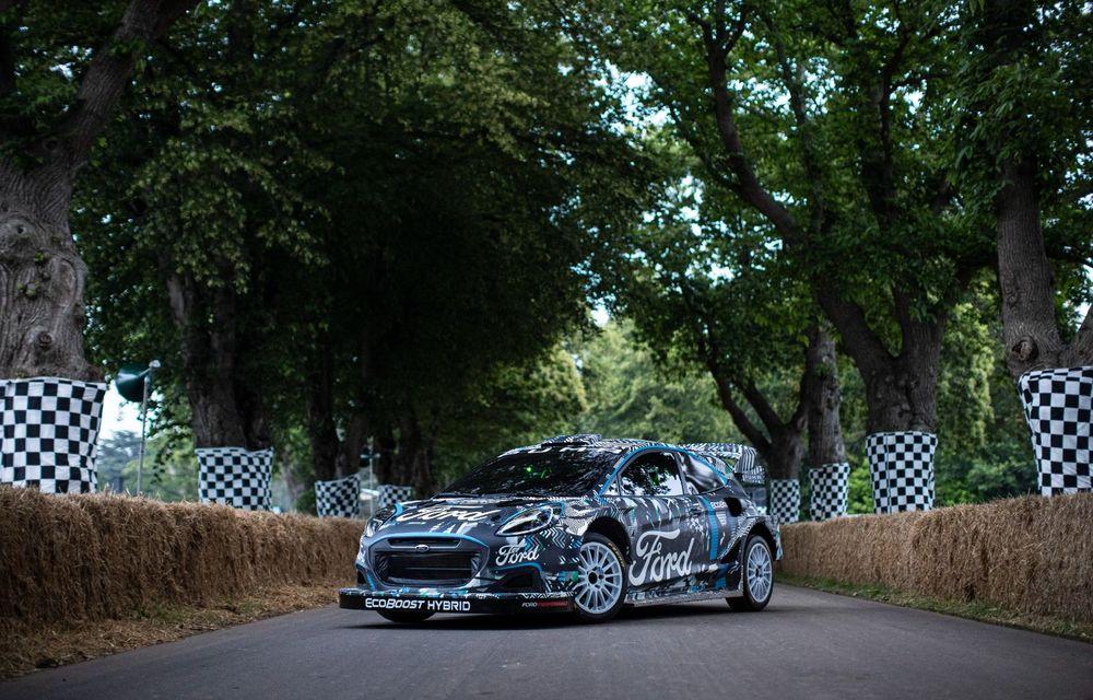Ford Puma a fost transformat în mașină de raliu: prototipul va participa în WRC din 2022 - Poza 4