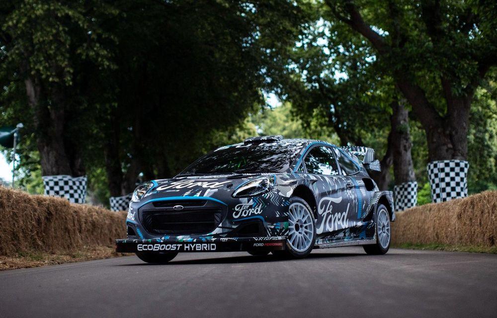 Ford Puma a fost transformat în mașină de raliu: prototipul va participa în WRC din 2022 - Poza 1