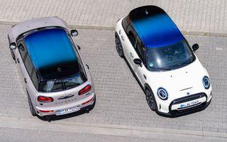 Mini Hatch și Clubman primesc plafonul Multitone, cu design în trei culori