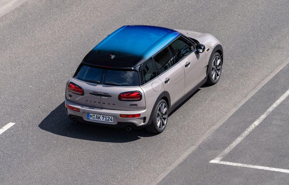 Mini Hatch și Clubman primesc plafonul Multitone, cu design în trei culori - Poza 8