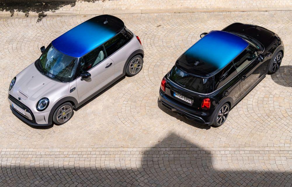 Mini Hatch și Clubman primesc plafonul Multitone, cu design în trei culori - Poza 2