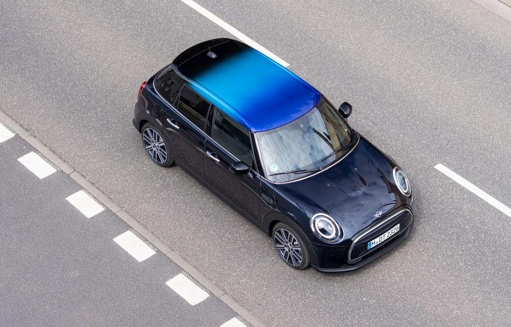 Mini Hatch și Clubman primesc plafonul Multitone, cu design în trei culori - Poza 17