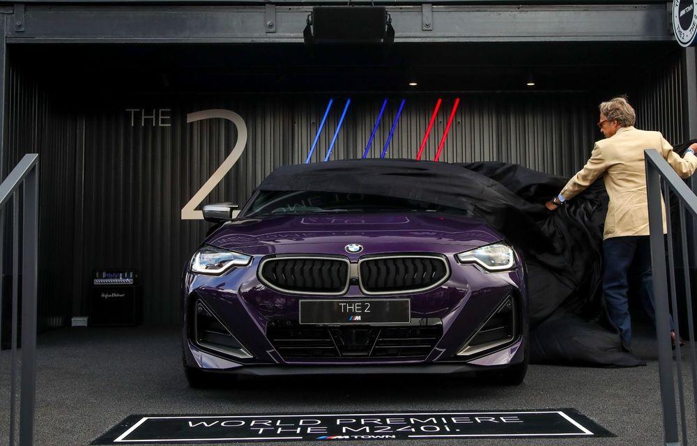 Noul BMW Seria 2 Coupe, prezentat public în cadrul Festivalului Vitezei de la Goodwood - Poza 1