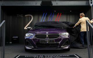Noul BMW Seria 2 Coupe, prezentat public în cadrul Festivalului Vitezei de la Goodwood