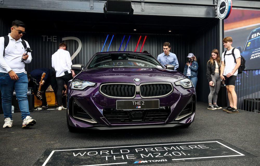 Noul BMW Seria 2 Coupe, prezentat public în cadrul Festivalului Vitezei de la Goodwood - Poza 5